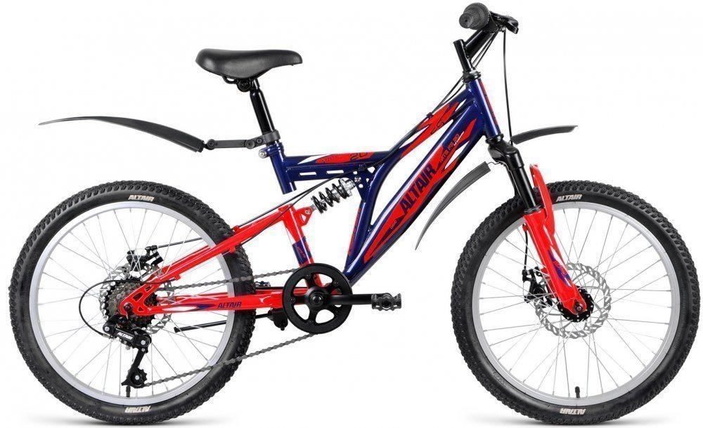 Подростковый велосипед ALTAIR MTB FS 20 disc