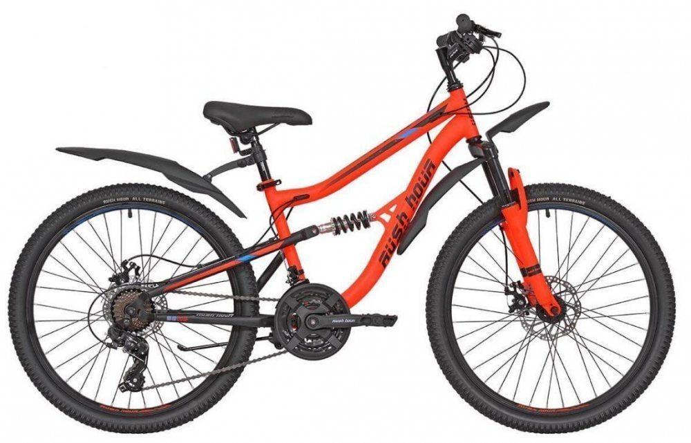 "Велосипед 24"" 21ск RUSH HOUR FS 480 DISC ST"