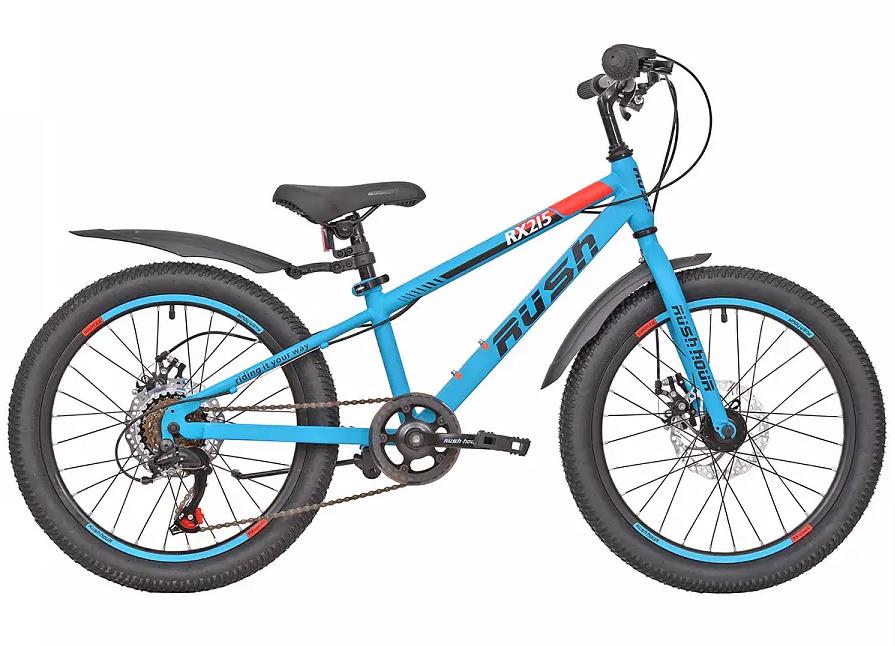 "Велосипед 20"" 6ск RUSH HOUR RX 215 DISC ST"