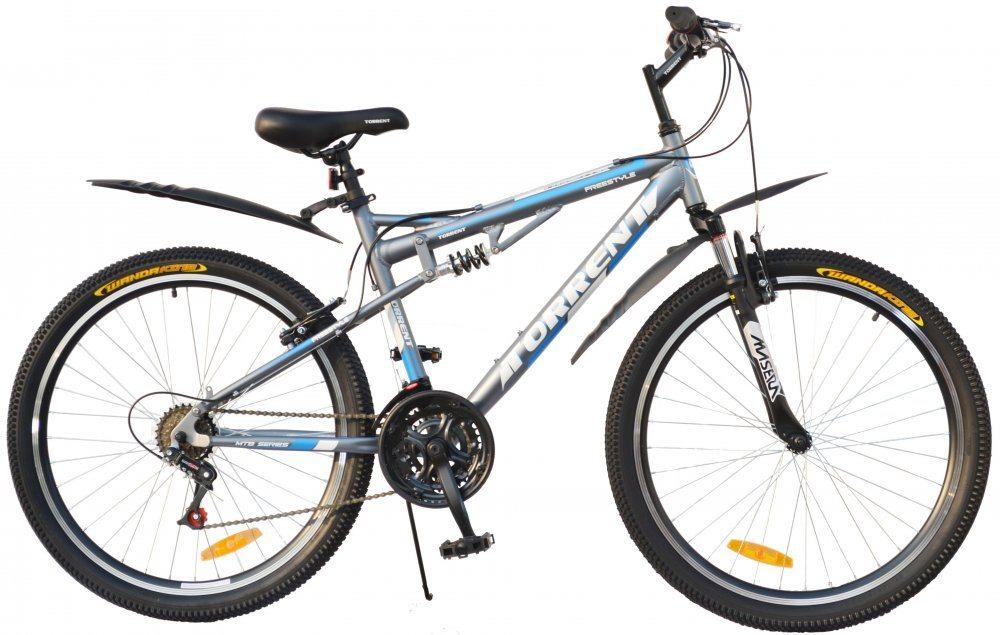 Горный двухподвесный велосипед TORRENT Freestyle