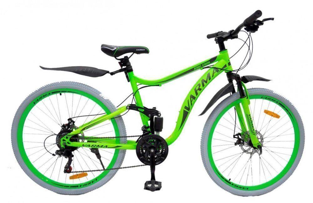 """Горный велосипед 27,5"""" VARMA BERNAT V700DR, серые покрышки, 21 ск. ст."""