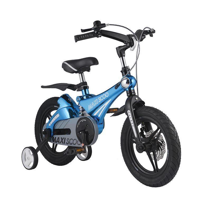 """Детский 2- колесный велосипед Maxiscoo Galaxy Делюкс, 14"""" (2021)"""