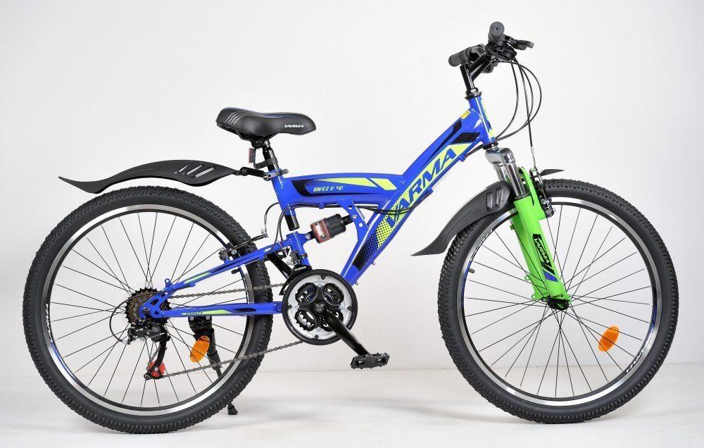 """Подростковый велосипед 24"""" VARMA RIVEZ V40 21 ск. ст."""