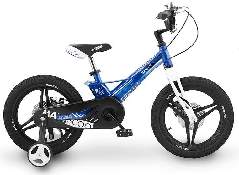 "Детский велосипед Maxiscoo Space Делюкс,18"" (2020)"