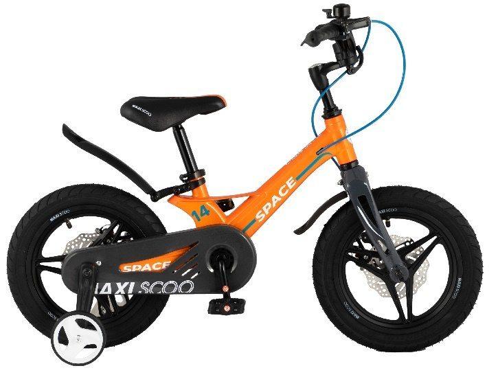 """Детский 2- колесный велосипед Maxiscoo Space Делюкс плюс,14"""" (2021)"""