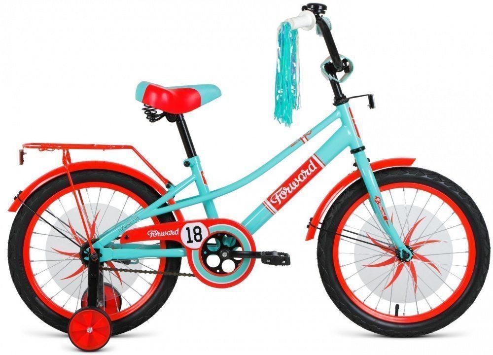 Детский велосипед Forward Azure 18 (2019-2020)