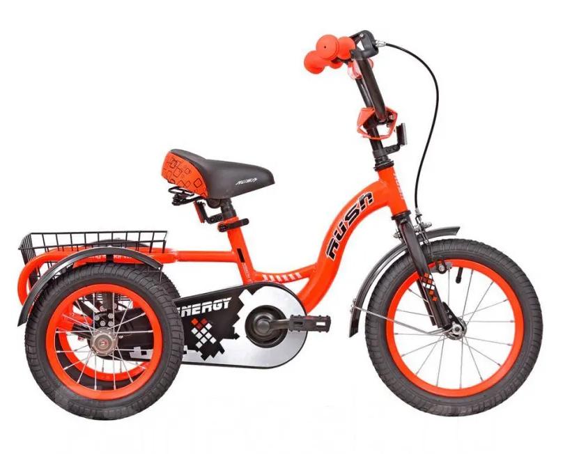 """Велосипед 16"""" трехколесный RUSH HOUR ENERGY"""