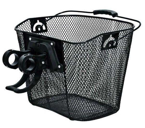 Багажник корзиночный велосипедный, сталь, BA-K28, Быстросъемная