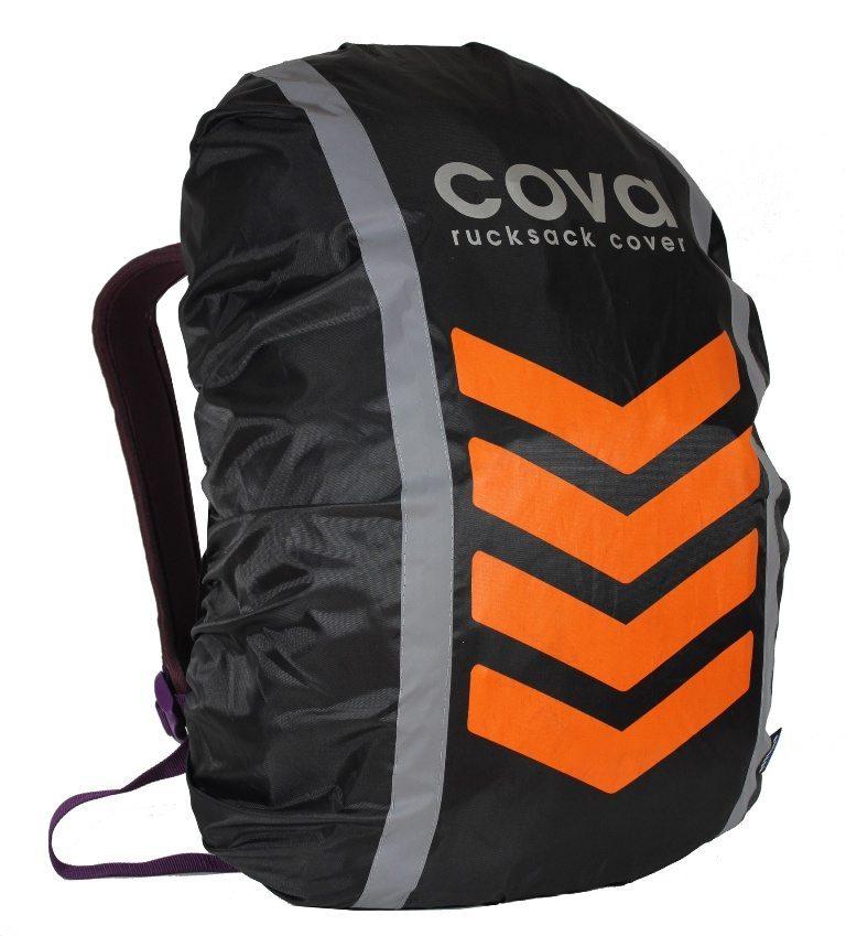 Чехол на рюкзак со световозвращающими лентами, объем 20-40 л НЕОН